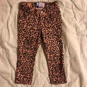 Old Navy Leopard Skinnies